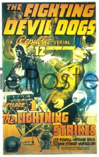 FIGHTING DEVIL DOGS ('38) CH1 1sheet
