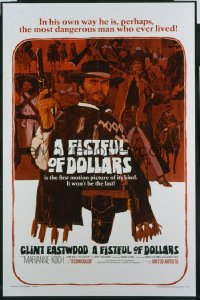 FISTFUL OF DOLLARS 1sheet