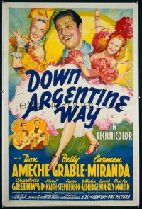 DOWN ARGENTINE WAY 1sheet