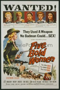 FIVE BOLD WOMEN 1sheet