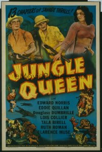 106 JUNGLE QUEEN ('45) entire serial 1sheet