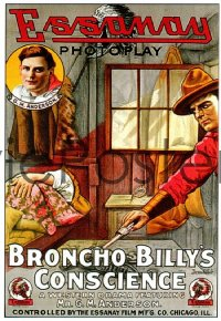 BRONCHO BILLY'S CONSCIENCE 1sheet