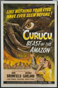 CURUCU, BEAST OF THE AMAZON 1sheet