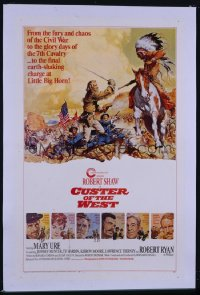 CUSTER OF THE WEST 1sheet