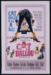 CAT BALLOU 1sheet