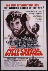 CYCLE SAVAGES 1sheet