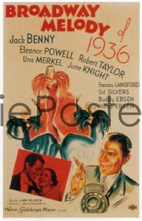 BROADWAY MELODY OF 1936 1sheet