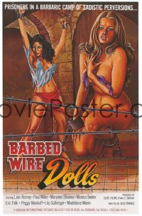 BARBED WIRE DOLLS 1sheet