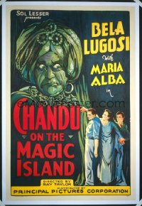 CHANDU ON THE MAGIC ISLAND 1sheet