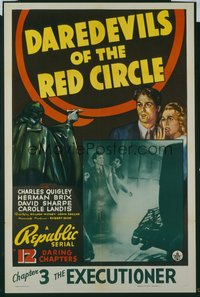 061 DAREDEVILS OF THE RED CIRCLE CH3 1sheet