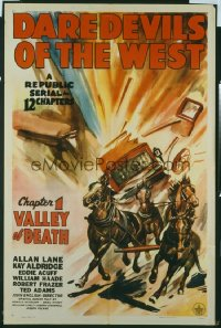 088 DAREDEVILS OF THE WEST CH1 1sheet