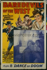 DAREDEVILS OF THE WEST CH8 1sheet