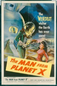 MAN FROM PLANET X 1sheet
