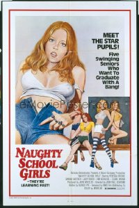 BLAZER GIRLS 1sh R76 Jean-Paul Scardino, Rebecca Brooke, Naughty School Girls