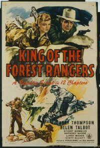 109 KING OF THE FOREST RANGERS entire serial 1sheet