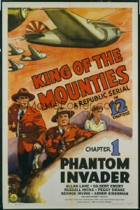 082 KING OF THE MOUNTIES CH1 1sheet
