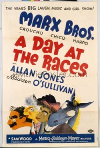DAY AT THE RACES 1sheet