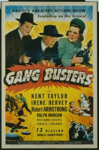 085 GANG BUSTERS ('42) entire serial 1sheet