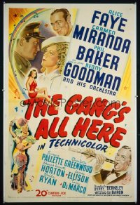 GANG'S ALL HERE ('43) 1sheet