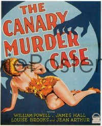 CANARY MURDER CASE WC