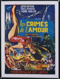 CIRCUS OF HORRORS French