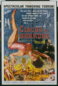 CIRCUS OF HORRORS 1sheet