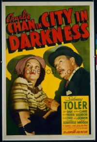 CHARLIE CHAN IN CITY IN DARKNESS 1sheet