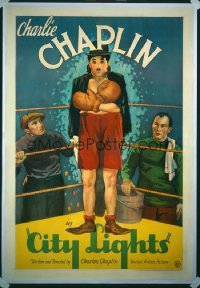 128 CITY LIGHTS 1sheet 1931