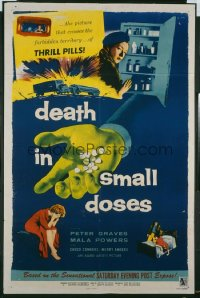 DEATH IN SMALL DOSES 1sheet