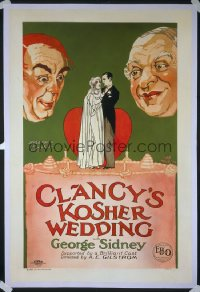 CLANCY'S KOSHER WEDDING 1sheet