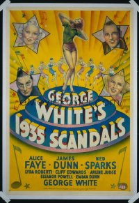 GEORGE WHITE'S 1935 SCANDALS 1sheet