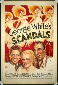 GEORGE WHITE'S SCANDALS ('34) 1sheet