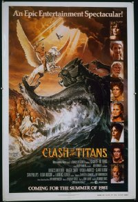 CLASH OF THE TITANS advance 1sheet