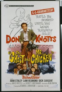 GHOST & MR. CHICKEN 1sheet