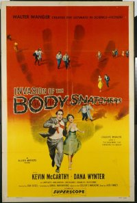 INVASION OF THE BODY SNATCHERS ('56) 1sheet