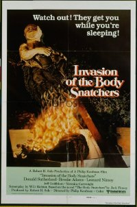 INVASION OF THE BODY SNATCHERS ('78) international style A 1sheet