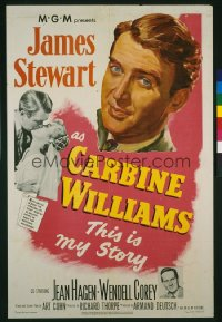 CARBINE WILLIAMS 1sheet