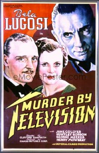 MURDER BY TELEVISION 1sheet