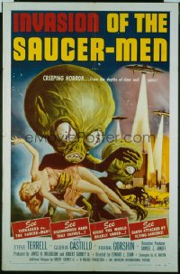 INVASION OF THE SAUCER MEN 1sheet