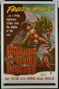 PHANTOM FROM 10,000 LEAGUES 1sheet