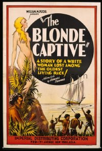 BLONDE CAPTIVE R30s 1sheet