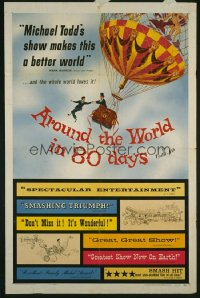 AROUND THE WORLD IN 80 DAYS ('56) 1sheet