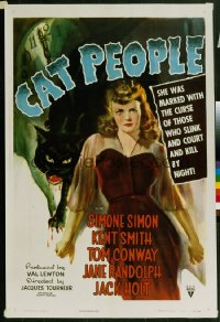 CAT PEOPLE ('42) 1sheet