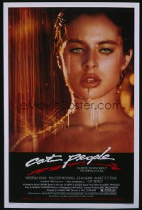 CAT PEOPLE ('82) 1sheet