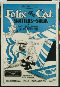 FELIX THE CAT SHATTERS THE SHEIK 1sheet
