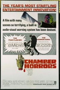 CHAMBER OF HORRORS ('66) 1sheet