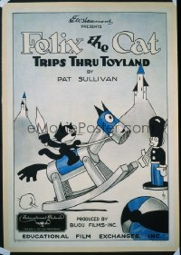 FELIX THE CAT TRIPS THROUGH TOYLAND 1sheet