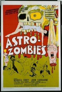 ASTRO-ZOMBIES 1sheet