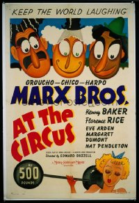 AT THE CIRCUS 1sheet