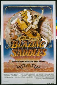 BLAZING SADDLES 1sheet